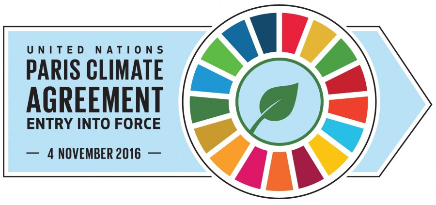 United Nations Paris Climate Agreement Image