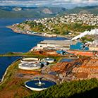 Corner Brook Pulp and Paper mill