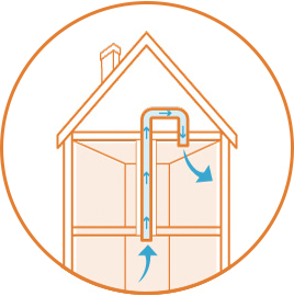 illustration of home insulation